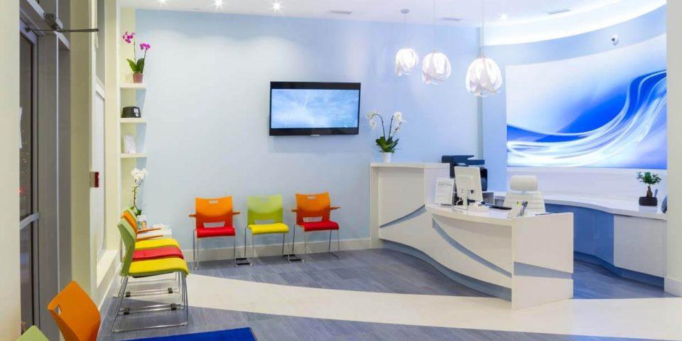 diseño interiores clínica