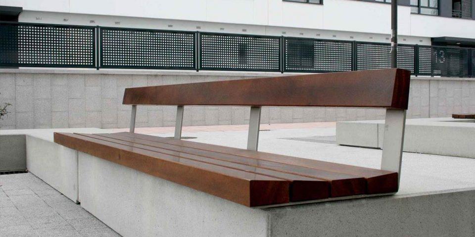 mobiliario urbano en valladolid