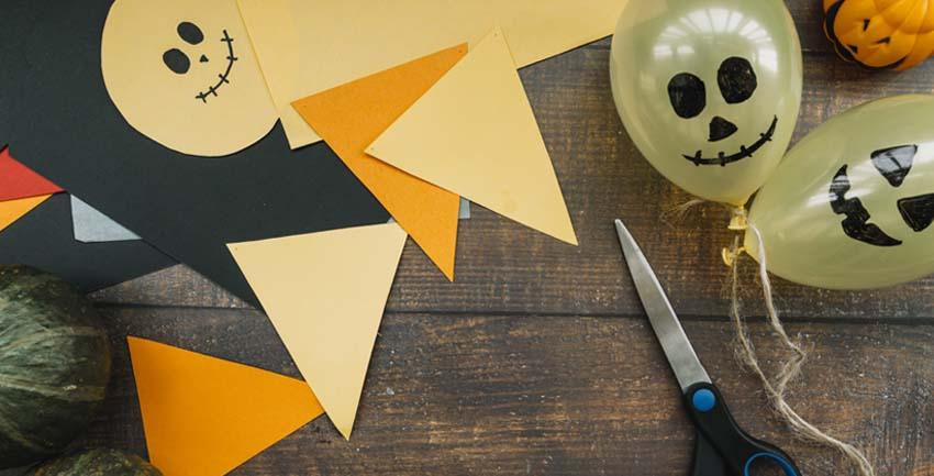 manualidades halloween para niños colegios y casa