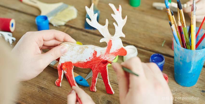 Manualidades para navidad niños y colegios