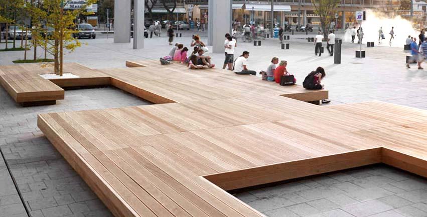 mobiliario urbano ciudad